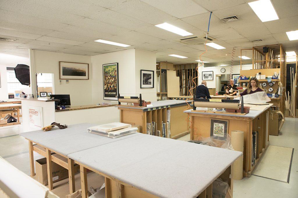 custom framing shop